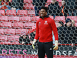 Jamal Blackman of Sheffield Utd during the Championship match at Bramall Lane Stadium, Sheffield. Picture date 26th December 2017. Picture credit should read: Simon Bellis/Sportimage