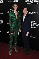 "Asia Kate Dillon and Corinne Donly at the World  Premiere of ""John Wick: Chapter 3 Parabellum"", held at One Hanson in Brooklyn, New York, USA, 09 May 2019"
