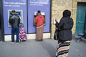 NatWest ATM in Whitechapel London which has the largest Muslim community in the UK