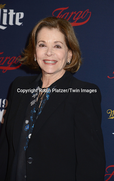 Jessica Walter attends FX's 2017 All-Star Upfront on  April 6, 2017 at SVA Theater in New York, New York, USA. <br /> <br /> photo by Robin Platzer/Twin Images<br />  <br /> phone number 212-935-0770