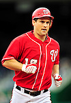 15 August 2010: Washington Nationals outfielder Josh Willingham in action against the Arizona Diamondbacks at Nationals Park in Washington, DC. The Nationals defeated the Diamondbacks 5-3 to take the rubber match of their 3-game series. Mandatory Credit: Ed Wolfstein Photo
