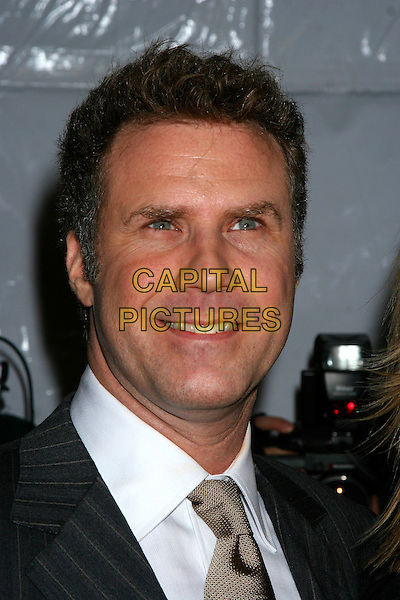 "WILL FERRELL .""The Producers"" New York Premiere at the Ziegfeld Theatre, New York City..December 4th, 2005 .Ref: IW.headshot portrait.www.capitalpictures.com.sales@capitalpictures.com.©Capital Pictures"