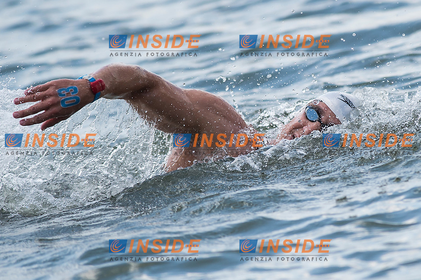 SCHWEINZER Matthias AUT<br /> Hoorn, Netherlands <br /> LEN 2016 European Open Water Swimming Championships <br /> Open Water Swimming<br /> Men's 5km<br /> Day 02 12-07-2016<br /> Photo Giorgio Perottino/Deepbluemedia/Insidefoto