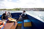 Boat trip Swanage, Dorset, England