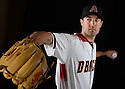 Arizona Diamondbacks Robbie Ray (38) during photo day on February 28, 2016 in Scottsdale, AZ.