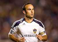 LA Galaxy forward & team Captain Landon Donovan (10) heads over to the corner for a kick. The LA Galaxy and Toronto FC played to a 0-0 draw at Home Depot Center stadium in Carson, California on Saturday May 15, 2010.  .