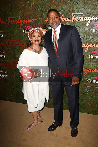 Norm Nixon, Debbie Allen<br />