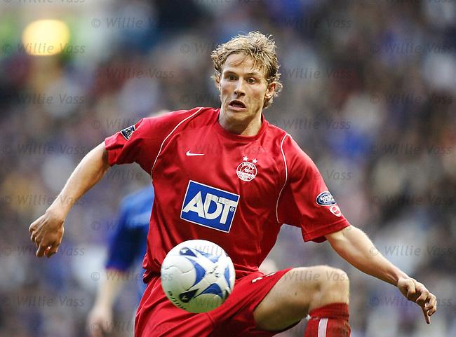 Chris Clark, Aberdeen.stock season 2005-2006.pic willie vass