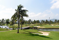 Yalong Bay Golfplatz bei Sanya auf der Insel Hainan, China<br /> Yalong Bay Golfplatz near Sanya, Hainan island, China