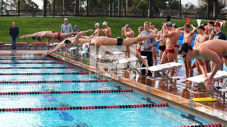 Stanford, CA; Saturday October 6, 2012: Swimming Alumni Meet.