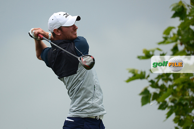 Chris Wood of England during Round 4 of the Lyoness Open, Diamond Country Club, Atzenbrugg, Austria. 12/06/2016<br /> Picture: Richard Martin-Roberts / Golffile<br /> <br /> All photos usage must carry mandatory copyright credit (&copy; Golffile | Richard Martin- Roberts)
