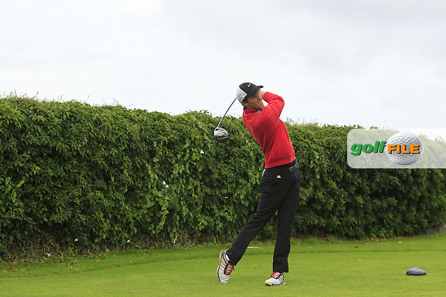 Brian Houston (Lurgan) on the 5th tee during Round 3 of the 2016 Connacht U18 Boys Open, played at Galway Golf Club, Galway, Galway, Ireland. 07/07/2016. <br /> Picture: Thos Caffrey | Golffile<br /> <br /> All photos usage must carry mandatory copyright credit   (&copy; Golffile | Thos Caffrey)