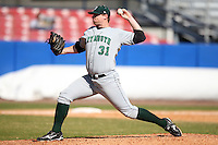 March 23, 2010:  Pitcher Robert Young (31) of the Dartmouth Big Green during a game at the Chain of Lakes Stadium in Winter Haven, FL.  Photo By Mike Janes/Four Seam Images