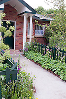 Low Maintenance Front Garden Ideas Curb Appeal Uk