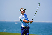 Soren Kjeldsen (DEN) on the 9th during Round 3 of the Oman Open 2020 at the Al Mouj Golf Club, Muscat, Oman . 29/02/2020<br /> Picture: Golffile   Thos Caffrey<br /> <br /> <br /> All photo usage must carry mandatory copyright credit (© Golffile   Thos Caffrey)