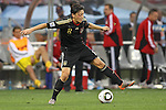 03.07.2010, CAPE TOWN, SOUTH AFRICA, Mesut Oezil of Germany attempts a back heal pass  Match 59 of the 2010 FIFA World Cup, Argentina vs Germany held at the Cape Town Stadium Foto © nph / Kokenge