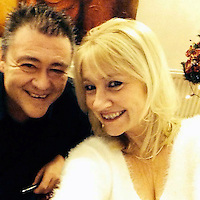 Pictured: Anna Colcombe (R) with unknwown man, image taken from her open facebook page<br /> Re: Gwent Police force secretary Anna Colcombe is accused of forging her estranged husband's Geoffrey Jones' signature in a £120,000 fraud over their house in south Wales.
