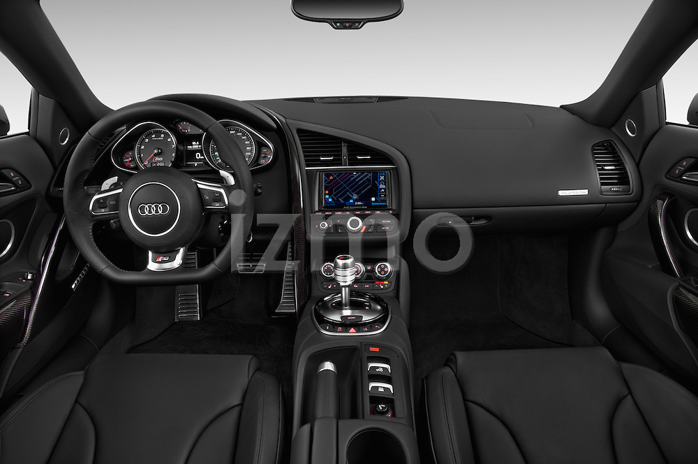 2014 Audi R8 Spyder Convertible Dashboard View