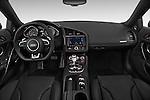 2014 Audi R8 Spyder Convertible Dashboard View