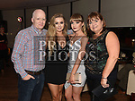 Jillian Holden celebrating her 21st birthday in Bru with parents Ray and Catriona and sister Lucy. Photo:Colin Bell/pressphotos.ie