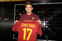 New AS Roma Player Cengiz Under <br /> Roma 04-08-2017 <br /> Press Conference <br /> Foto Gino Mancini/Insidefoto