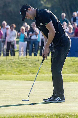 22.09.2016. Bad Griesbach, Germany, PGA European Tour, round 1.   Martin Kaymer of Germany in action at the European Tour - European Open in golf in Bad Griesbach, Germany, 22 September 2016.