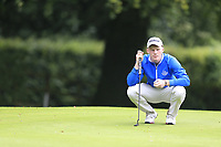 John Murphy (kinsale) during the first round at the Mullingar Scratch Trophy, the last event in the Bridgestone order of merit Mullingar Golf Club, Mullingar, West Meath, Ireland. 10/08/2019.<br /> Picture Fran Caffrey / Golffile.ie<br /> <br /> All photo usage must carry mandatory copyright credit (© Golffile | Fran Caffrey)