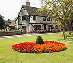 Historic Oliver Cromwell house, Ely, Cambridgeshire, England, UK