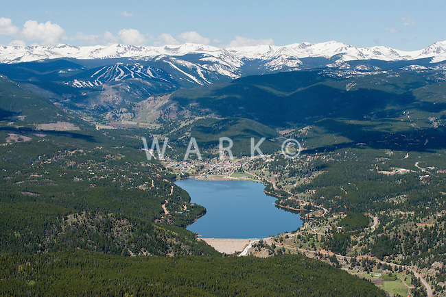 Nederland, Colorado with Eldora ski and Lake Barker. May 2014. 84253