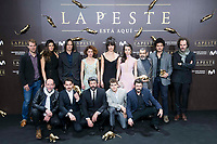 Full cast attends to the premiere of 'La Peste' at Callao Cinemas in Madrid, Spain. January 11, 2018. (ALTERPHOTOS/Borja B.Hojas) /NortePhoto.com NORTEPHOTOMEXICO