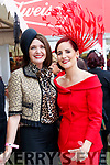 Carol Kennelly (Tralee) and Joann Murphy (Kilgarvan), enjoying Ladies Day at Listowel Races on Friday last.