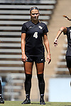 21 August 2016: Central Florida's Carrie Lawrence. The Duke University Blue Devils played the University of Central Florida Knights in a 2016 NCAA Division I Women's Soccer match. Duke won the game 3-1.