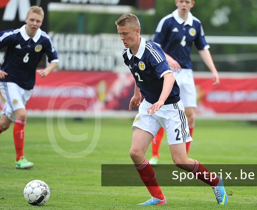 Scotland U19 - Georgia U19 : Mark O'Hara.foto DAVID CATRY / Nikonpro.be