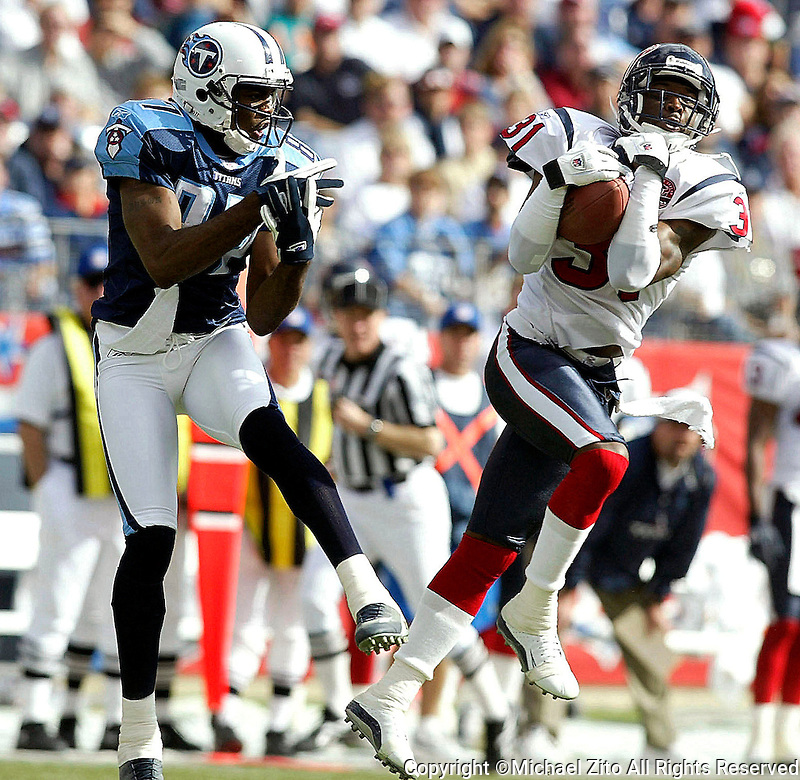In an NFLFootball game held at The Coliseum where the  Tennessee Titans Defeated the Houston Texans 17-10