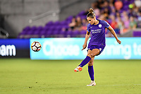 Orlando, FL - Saturday July 07, 2018: Shelina Zadorsky during the second half of a regular season National Women's Soccer League (NWSL) match between the Orlando Pride and the Washington Spirit at Orlando City Stadium. Orlando defeated Washington 2-1.
