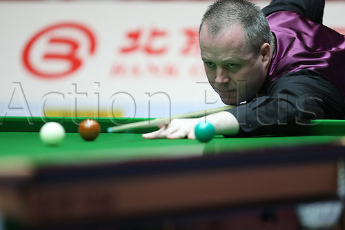 Apr 01, 2011; Beijing, CHINA; Shaun Murphy defeats John Higgins 5:2 in a quarterfinal match at the Bank of Beijing 2011 World Snooker China Open.