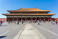 Hall of Supreme Harmony, Forbidden City, Beijing, China