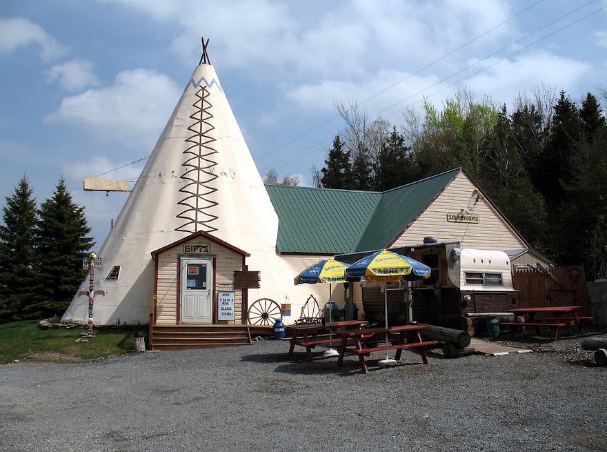 The Tepee in Cherry Valley, New York