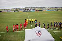 Oceanside, CA - Thursday June 23, 2018: US Soccer Development Academy Boy's Showcase at the SoCal Sports Complex.