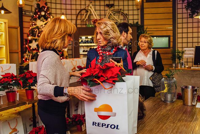 Evento Noche Repsol en el restaurante Marieta, Madrid.