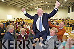 John Brassil who topped the poll in Listowel at the local elections at John Mitchels on Saturday.