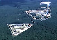Deutschland, Niedersachsen, Gorleben, Zwischen- und Endlager für Atommüll, Salzstock, Bohrung