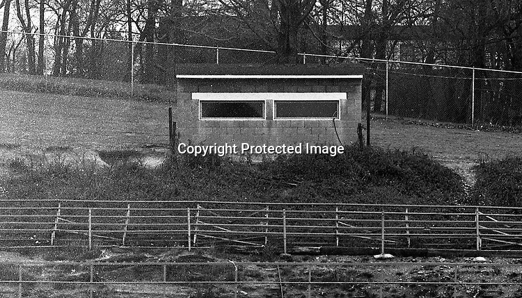Bethel Park Recreation Football League at the Park Ave Junior High - 1965.  View of the fabulous press box at Bethel Park Senior High Football Field. The new Stadium was opened two years later.