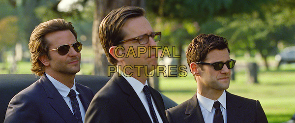 BRADLEY COOPER, ED HELMS &amp; JUSTIN BARTHA<br /> in The Hangover Part III (2013) <br /> 3<br /> *Filmstill - Editorial Use Only*<br /> CAP/FB<br /> Supplied by Capital Pictures