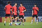 Players of FC Seoul (KOR) in action during a training session on 22 February 2016, one day before the 2016 AFC Champions League Group F match between Buriram United (THA) vs FC Seoul (KOR) at the New I-Mobile Stadium, Buriram, Thailand.