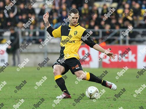2010-03-20 / Voetbal / seizoen 2009-2010 / K. Lierse SK - KVSK United / Bruno Camacho..Foto: Mpics