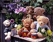 Interlitho, CUTE ANIMALS, LUSTIGE TIERE, ANIMALITOS DIVERTIDOS, teddies,photos+++++,KL16434,#ac# teddy bears