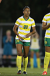04 September 2015: Oregon's Marissa Everett. The North Carolina State University Wolfpack hosted the Oregon University Ducks at Dail Soccer Field in Raleigh, NC in a 2015 NCAA Division I Women's Soccer game. NC State won the game 2-0.