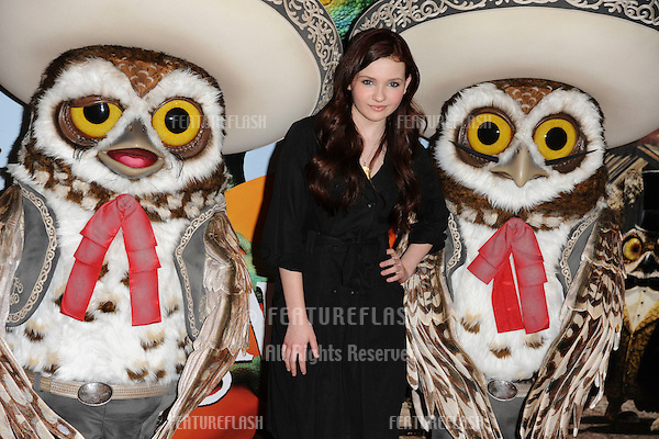 "Actress, Abigail Breslin.at the photocall for ""Rango"" at Claridges Hotel, London. 23/02/2011  Picture by: Steve Vas /Featureflash"