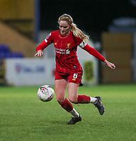13th February 2020; Deva Stadium, Chester, Cheshire, England; Womens Super League Football, Liverpool Womens versus Arsenal Womens;  Sophie Bradley-Auckland (C) of Liverpool Women